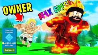 I UNLOCKED *MAX RANK* THEN RACED THE GAME OWNER IN ROBLOX SPEED CHAMPIONS FOR R$10,000!!