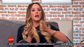 Charlotte Crosby breaks down talking about Gary Beadle on TV3