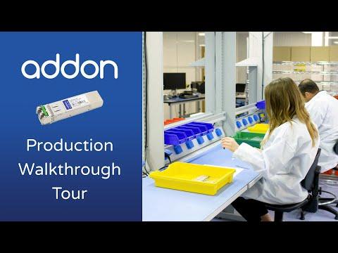 AddOn Networks: Fiber Optics Production Walkthrough Tour
