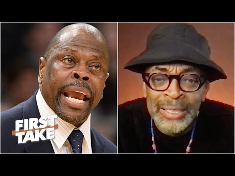 Spike Lee rips MSG for disrespecting Patrick Ewing | First T