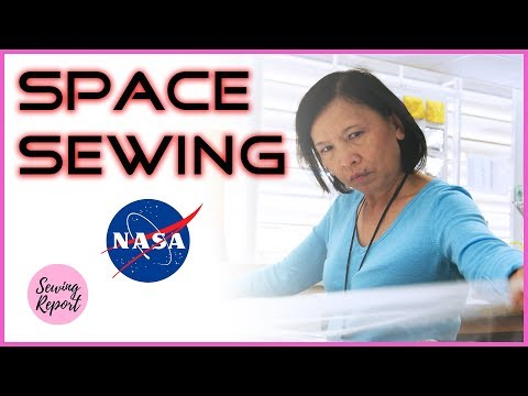 LIVE 🔴 NASA's Team of Seamstresses Are Out of this World! 🌎 | SEWING REPORT
