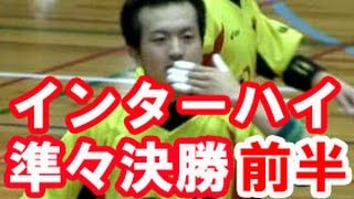 ハンドボール【北陸高校 vs 大分雄城台★1】インターハイ準々決勝 高校総体2015 Handball Men