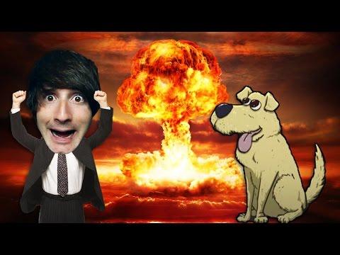 UN PERRO EN LA BOMBA NUCLEAR! 60 Seconds - [LuzuGames]