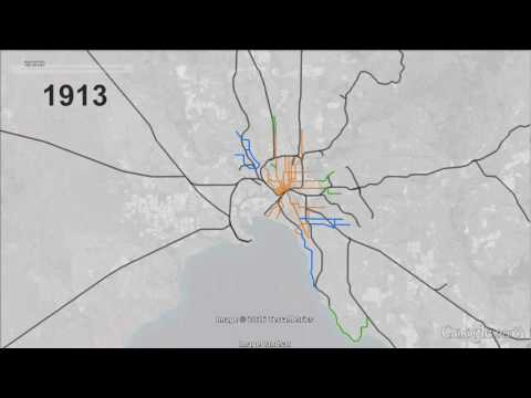 Melbourne Railways and Tramways 1854-2016