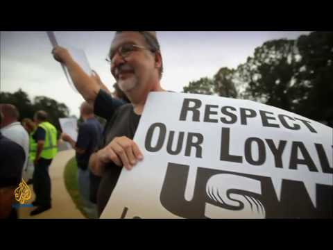 Fault Lines   The decline of labor unions in the US