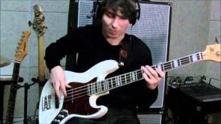 Manic Depression - Jimi Hendrix [Bass Lesson]