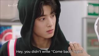 Video Hit the Top 최고의 한방 Ep 8 Astro's Cha Eunwoo Scene Eng Sub download MP3, 3GP, MP4, WEBM, AVI, FLV September 2018