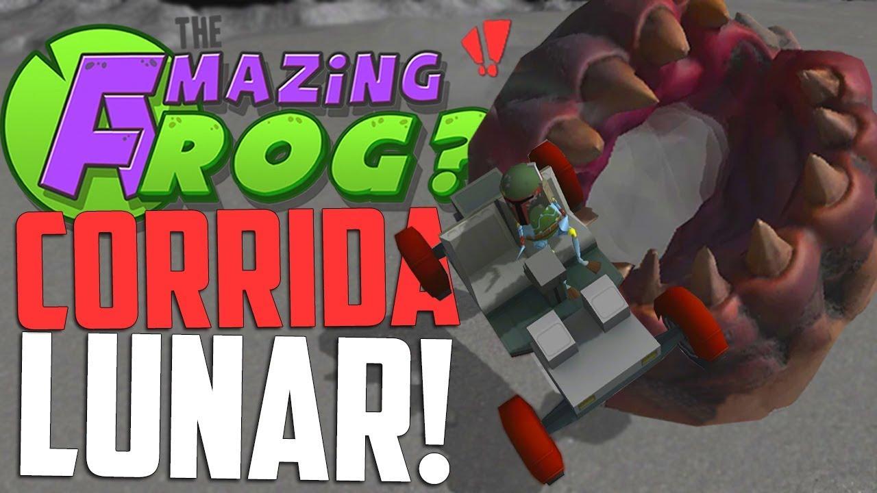 CORRIDA LUNAR E UM NOVO MISTÉRIO? - Amazing Frog - YouTube