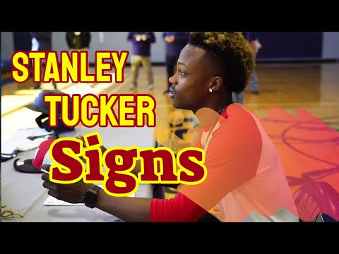 Stanley Tucker Signs with New Mexico Junior College