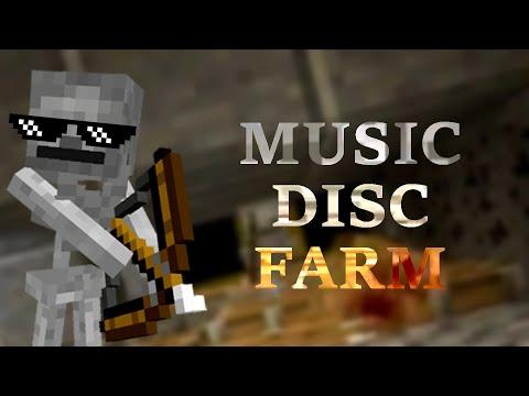 Music Disc Farm - Minecraft