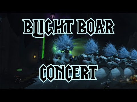 The Blight Boar Concert - Legion Music