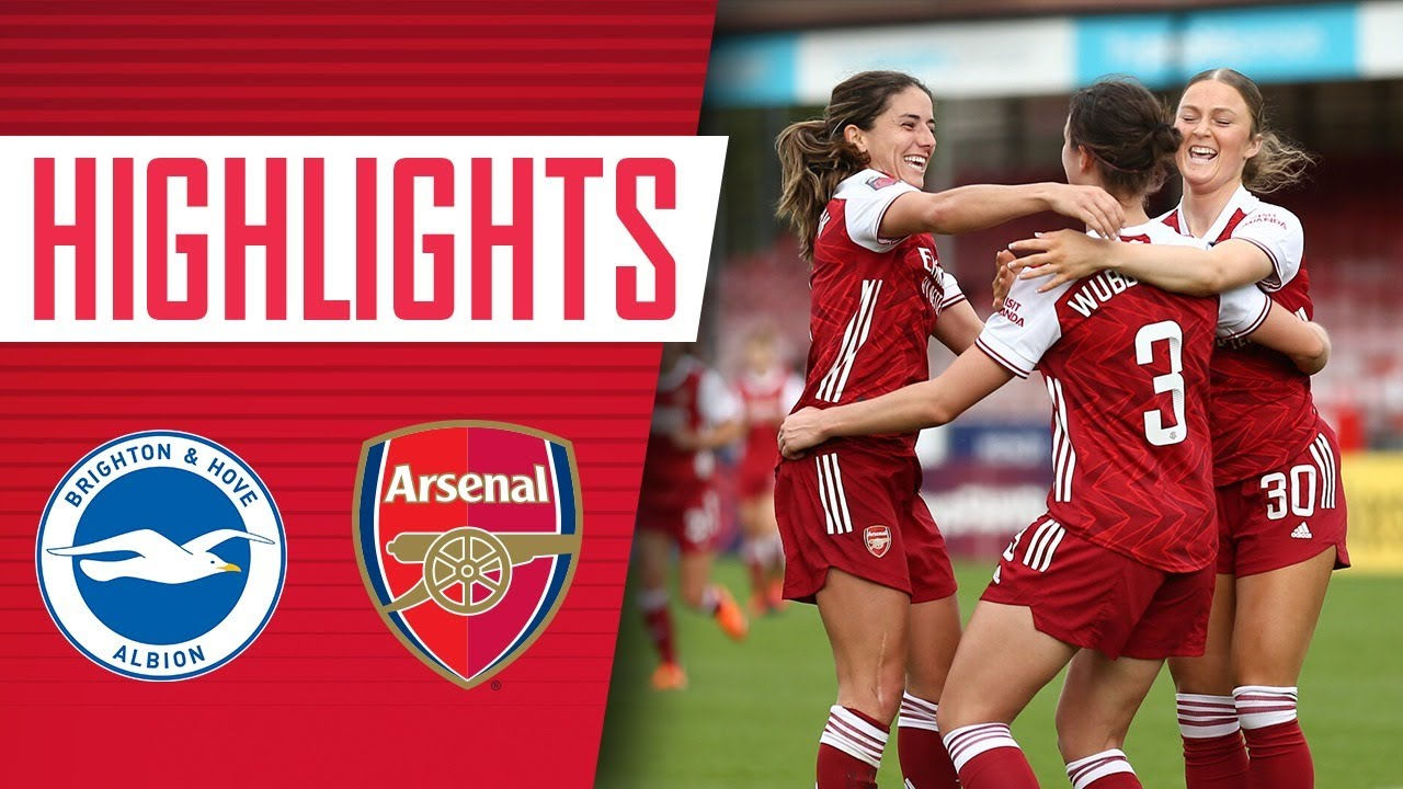 HIGHLIGHTS | Brighton vs Arsenal (0-5) | 49 goals in 50 games for Miedema!