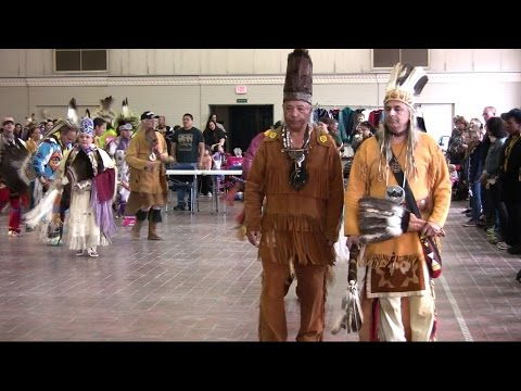 William & Mary Pow wow 2016 Grand Entry