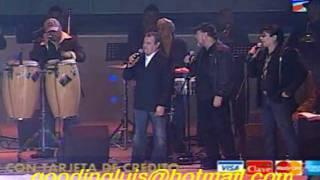 Cheo Feliciano Bobby Cruz Cheo Feliciano Ruben Blades  Ismael Miaranda en Panamá Teleton