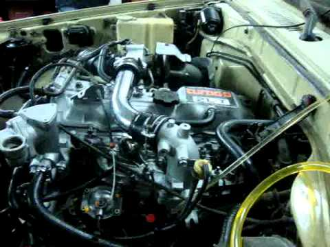 motor toyota 2lt youtube rh youtube com Toyota AR Engine Crown Toyota 2JZ-GE Engine