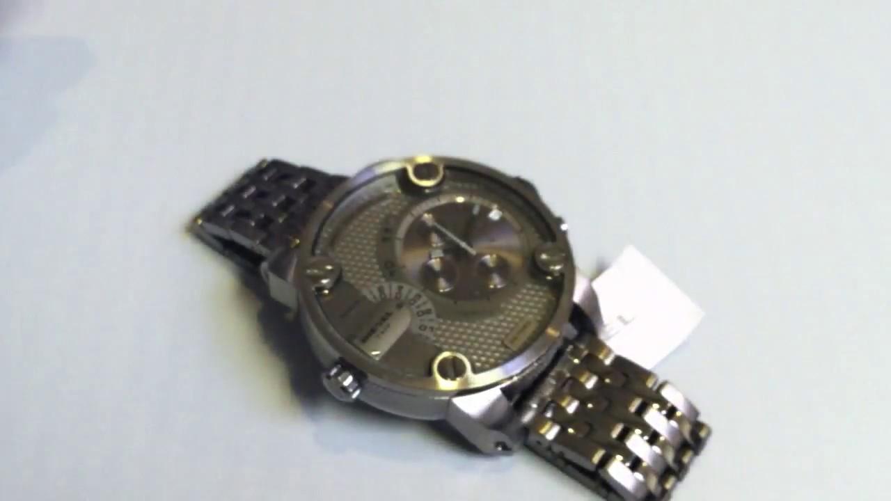 ad97be1df Men's Diesel SBA Oversized Big Chronograph Watch DZ7263 - YouTube