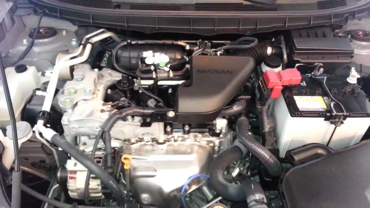 Attractive 2011 Nissan Rogue SUV   QR25DE 2.5L I4 Engine Idling After Oil Change U0026  Spark Plugs Change   YouTube