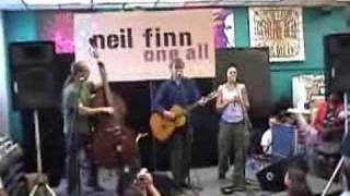 Neil Finn at Seattle Tower Records Part 9 - Turn and Run