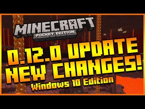 ★MINECRAFT POCKET EDITION 0.12.0 - NEW INTERFACE CHANGES + MINECRAFT WINDOWS 10 RELEASE & MORE!★
