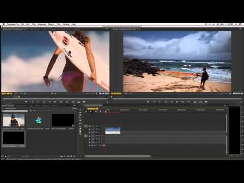 Adobe Premiere Matte Track Key Effect