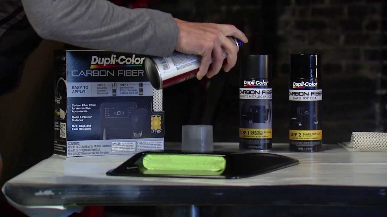 Dupli Color How To Carbon Fiber Youtube
