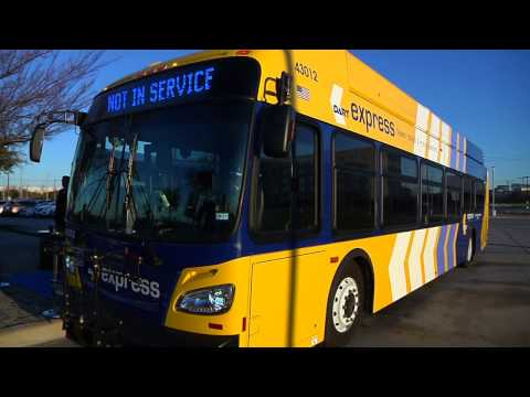 New DART Express Buses From Plano To Dallas