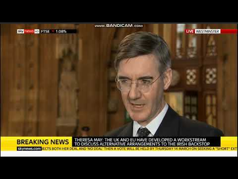Jacob Rees-Mogg on Theresa May's latest Brexit betrayal | Sky News