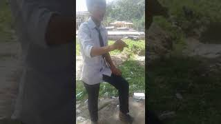 Counting card trick by young magician of Arunachal Pradesh