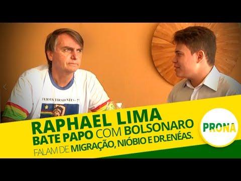 Raphael Lima Bate Papo com Bolsonaro sobre Migração Nióbio e DrEnéas