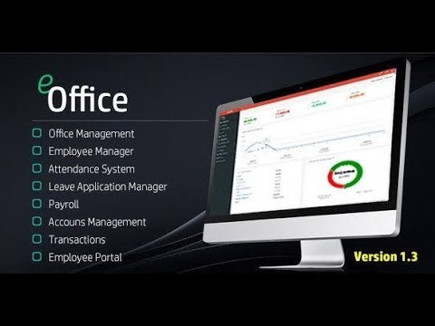 E Office Management System In PHP Free Download