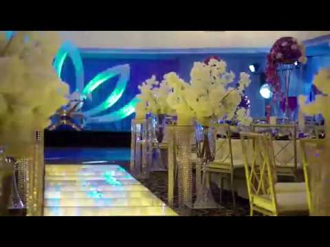 Reception Decor By Unique Floral At La Palm Royal Beach Hotel, Accra