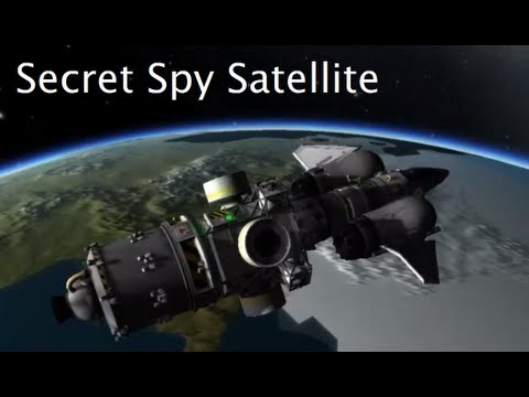 Secret Mission To Launch A Spy Satellite in Kerbal Space Program