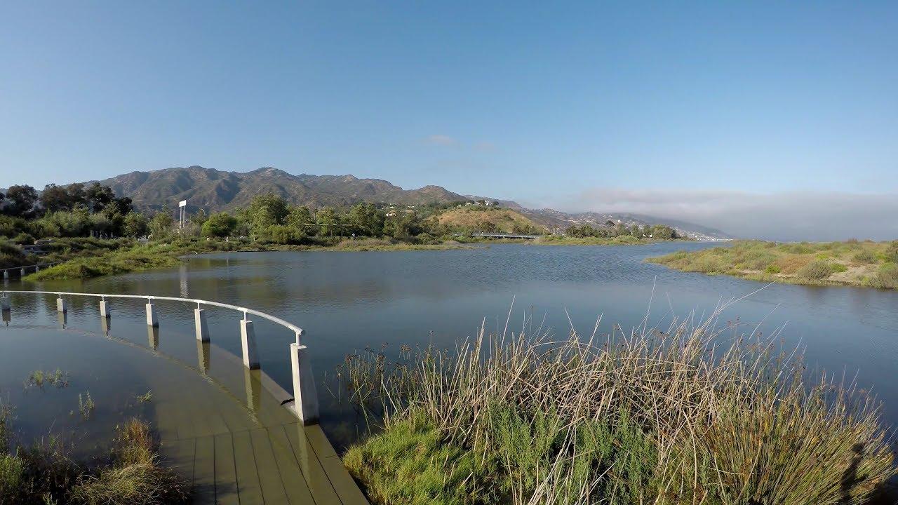Malibu Lagoon State Beach Park Tour 4k