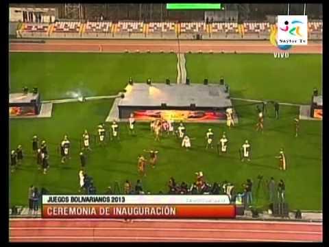 Inauguración  de los Juegos Bolivarianos 2013 Apertura 1/3