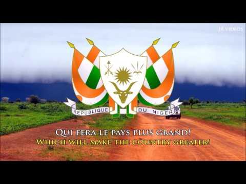 National Anthem of Niger FREN lyrics  Hymne National du Niger