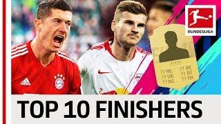 Lewandowski, Werner & More - EA SPORTS FIFA 19 - Top 10 Finishers