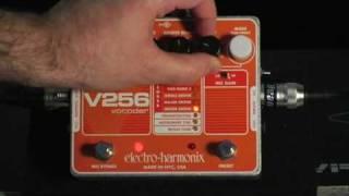Electro Harmonix V256 Vocoder Demo