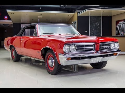 1964 Pontiac GTO Convertible For Sale
