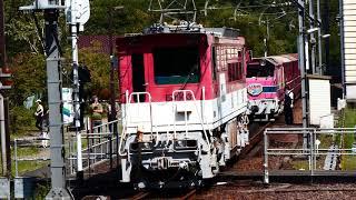 C10-8不調!ELかわね路運転!井川線のアプト式機関車!大井川鐡道