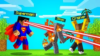 PLAYING As SUPERMAN In SPEEDRUNNER vs. HUNTERS! (Minecraft)