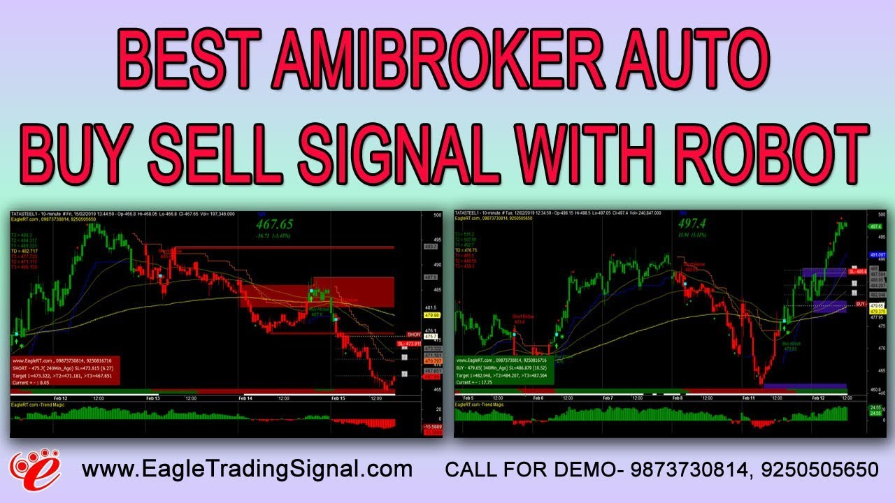 Auto Buy Sell Signal Software for AmiBroker   Robot Algo Trading Software  for Nse Mcx