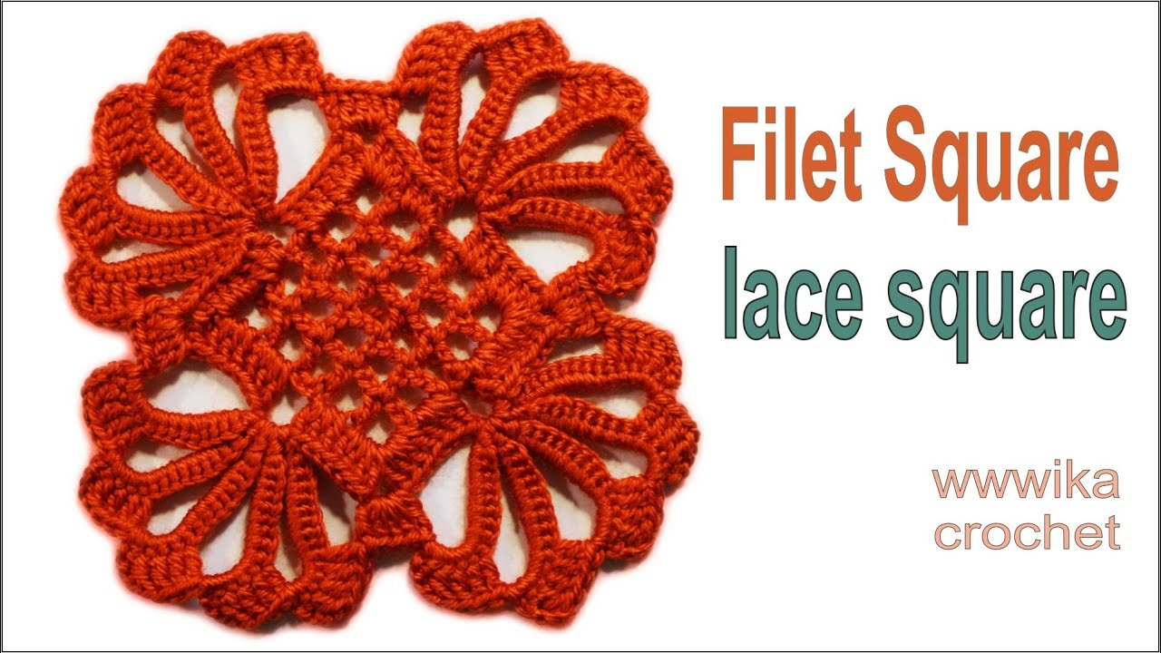 How to crochet filet square lace square crochetsquare wwwika how to crochet filet square lace square crochetsquare wwwika crochet youtube bankloansurffo Image collections