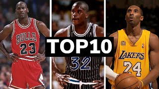 TOP 10 Basketball players of all time | Best players in NBA history