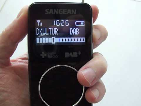 Sangean DPR-34 DAB+ Digital Radio with FM RDS - YouTube