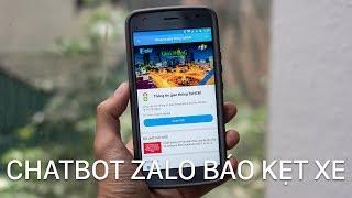 Dùng Chatbot trong Zalo để xem tình trạng kẹt xe ở Tp. Hồ Chí Minh