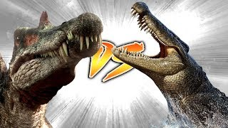 SPINOSAURUS VS SARCOSUCHUS [Who Would Win?]