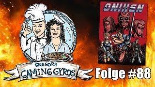 Oniken ~ Retro-schnitzel Mit Jäger-soße (gregors Gaming Gyros #88)