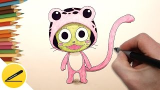 How to Draw Frosch (Fairy Tail) step by step - Anime, Manga Drawing