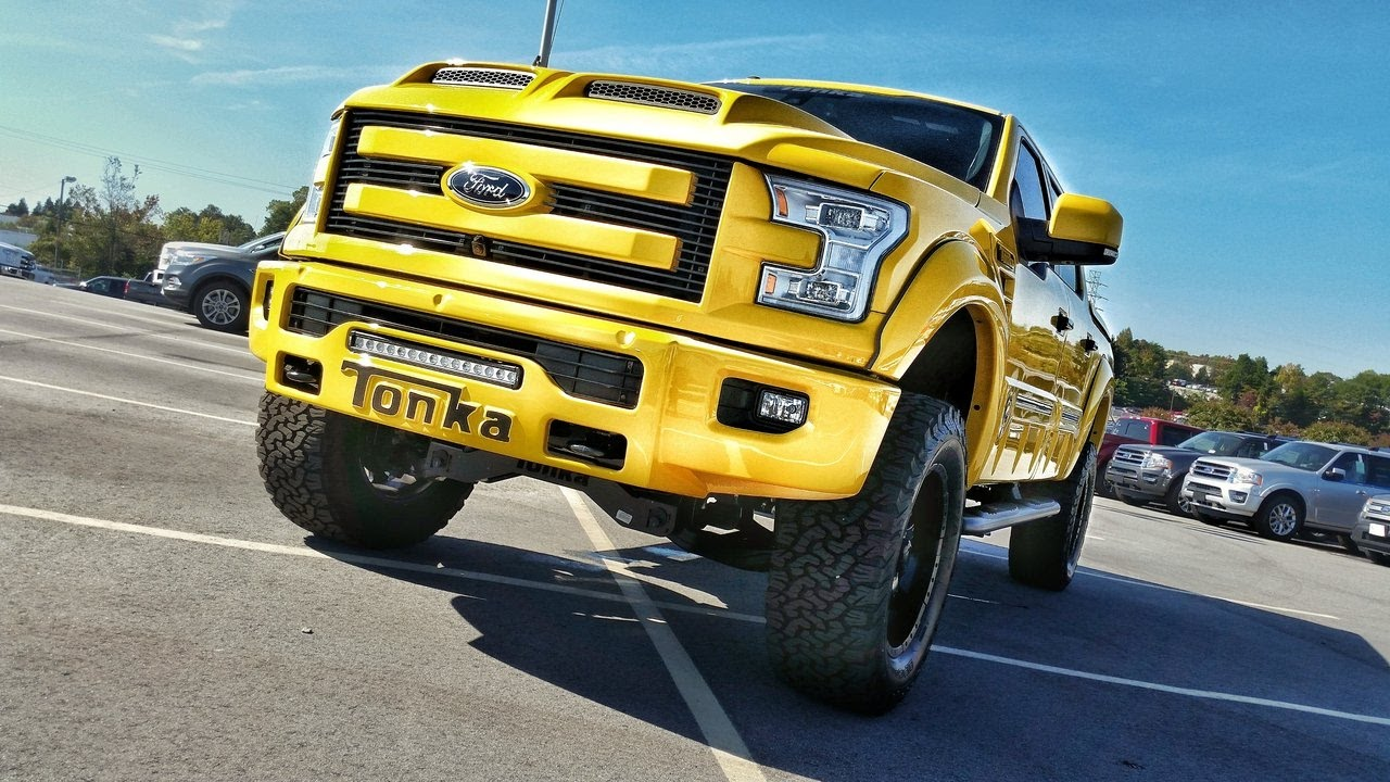2016 ford f150 lifted tonka truck msrp 8271800 complete interior exterior review