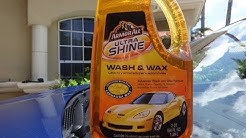 Armor All Ultra Shine Wash and Wax Review and Test Results on the Hyundai Tuscon